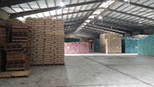 Vietnam Warehouse interior view