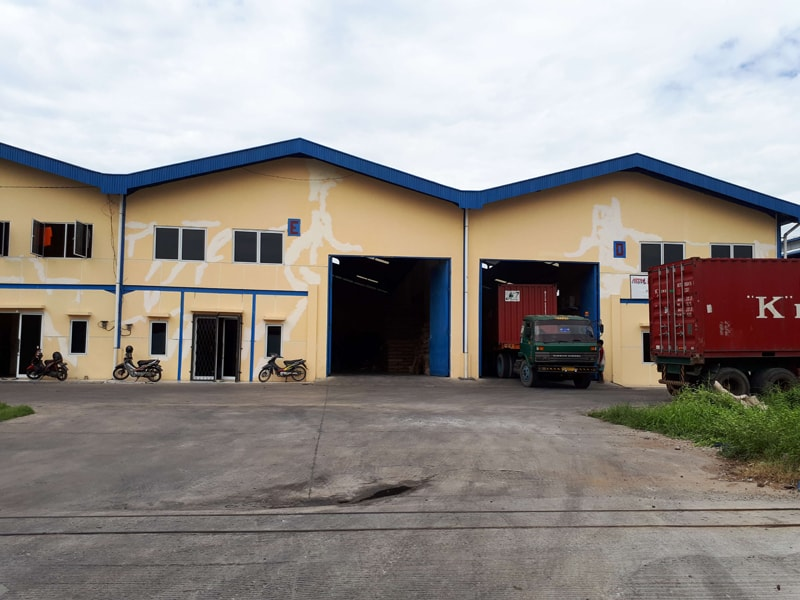 Indonesia Warehouse exterior view