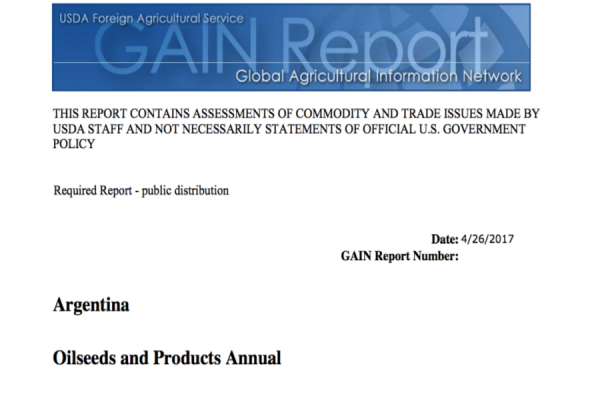 Argentina Oilseeds and Products Annual