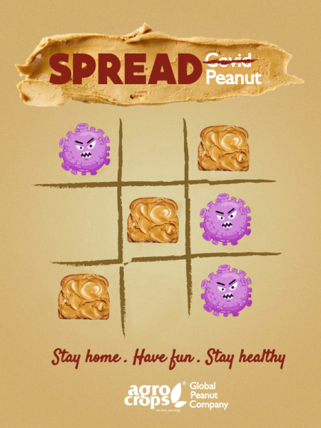 Spread Peanut, not the Covid!